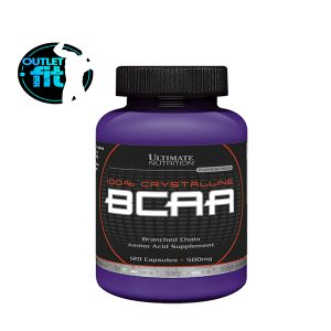 BCAA 100% CRYSTALLINE 120 CAPS