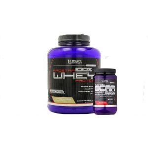 PACK PRO ULTIMATE NUTRITION PROTEINA + BCAA